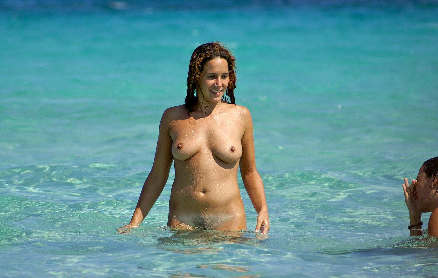 Girl naked spreading