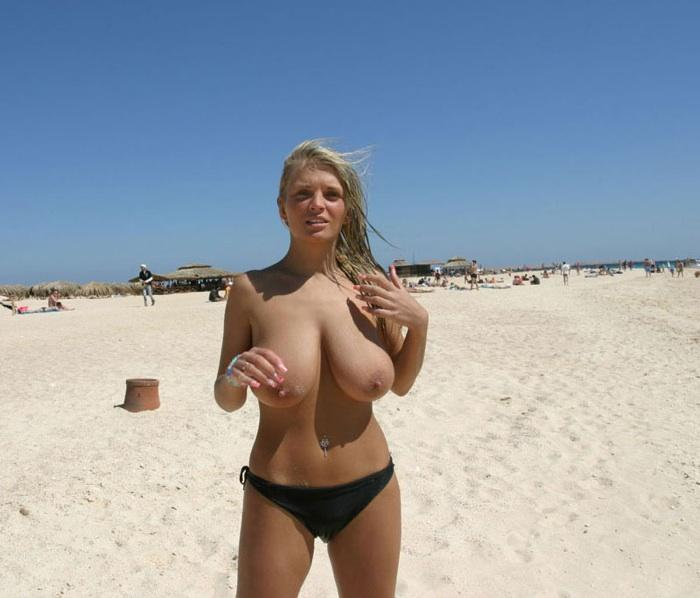Long haired woman with large breasts