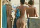 Hot naked babes enjoying the nude beach